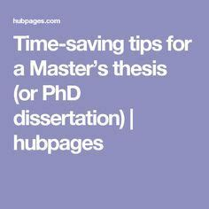 Find a master thesis